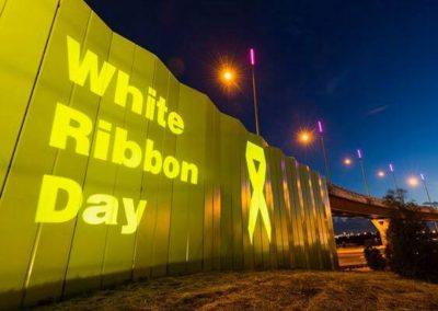 Tullamarine Highway   White Ribbon Day
