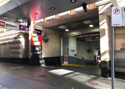 Pitt Street Carpark Syndey   STOP Sign   Photo One