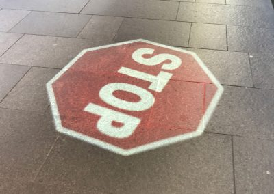 Pitt Street Carpark Syndey   STOP Sign   Photo Two