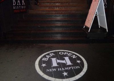 New Hampton Hotel Potts Point | Gobo Signage