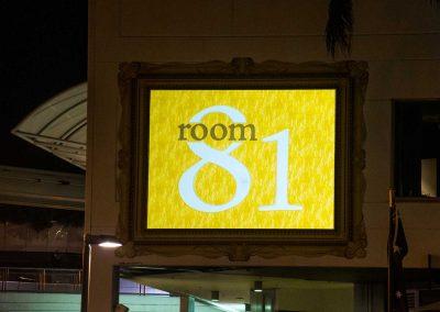 Room 81 Restaurant   Sofitel Broadbeach   Gobo Signage